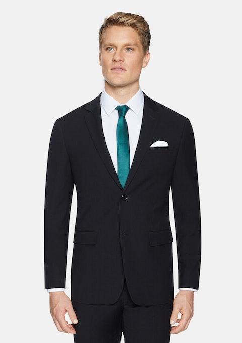 Black Supreme Stretch Suit Jacket