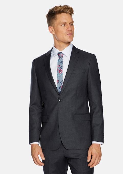 Grey Luka Slim Stretch Suit Jacket