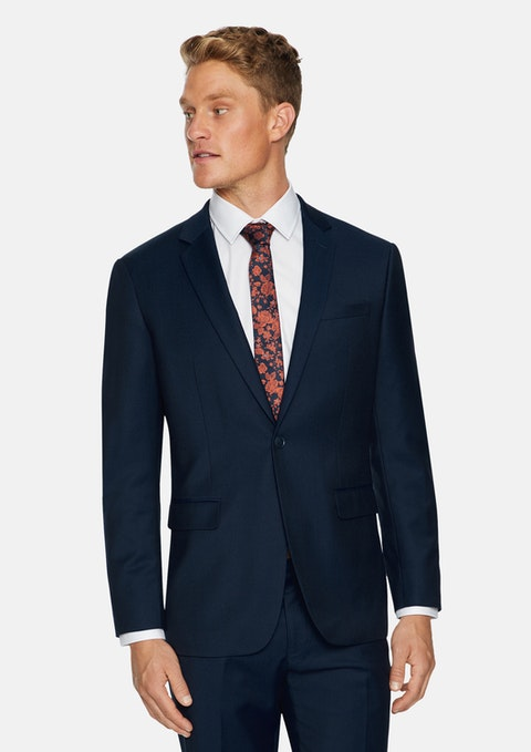 Navy Monty Stretch Suit Jacket