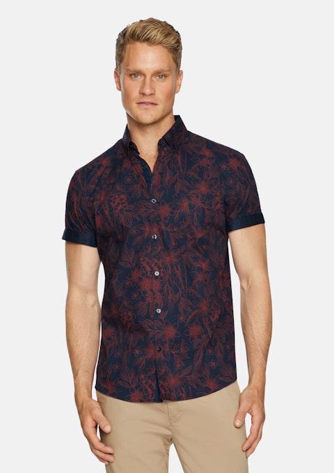 Navy Hampton Floral Shirt