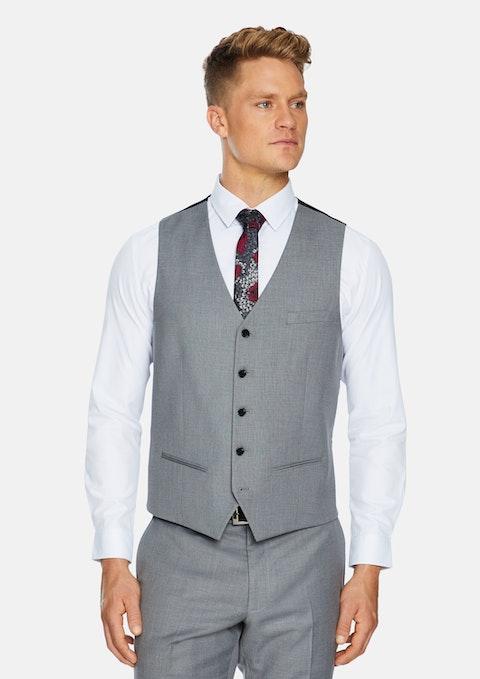 Silver Reggie Stretch Waistcoat