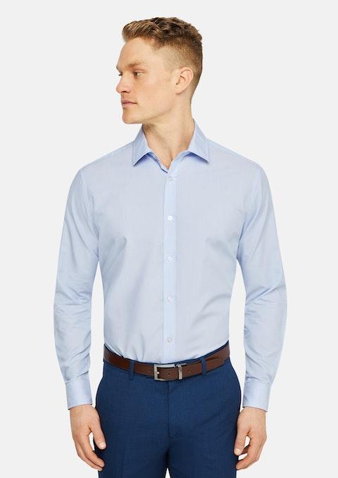 Blue Stripe Max Dress Shirt