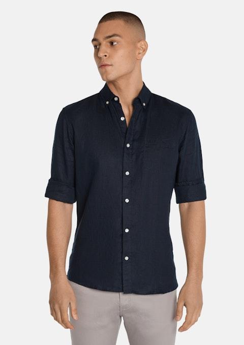 Midnight Billy Pure Linen Shirt