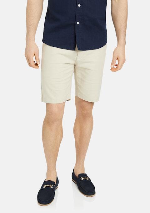 Natural Thornton Linen Short