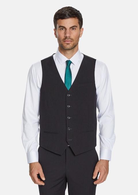 Black Supreme Stretch Waistcoat