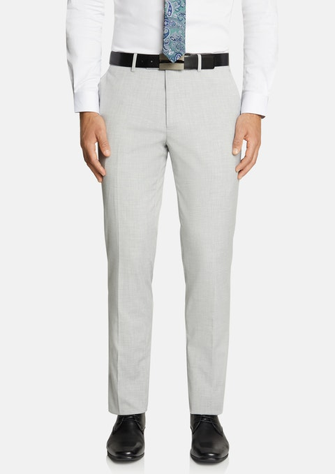 Silver Caleb Slim Stretch Pant