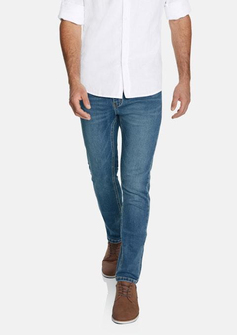 Blue Oregon Slim Stretch Jean