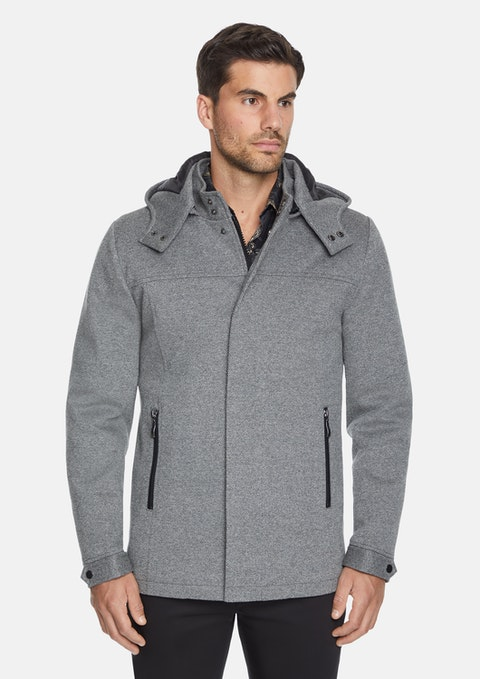 Silver Astley Textured Coat