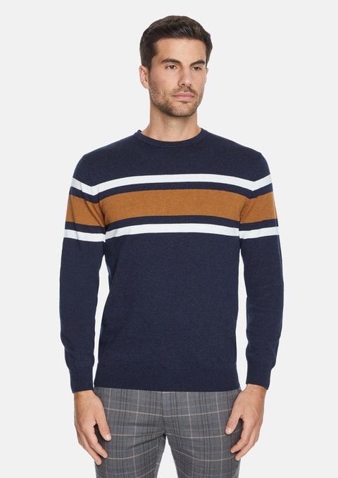 Navy Colton Knit