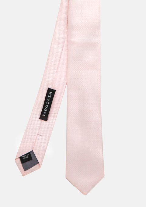 Pink Essential Tie