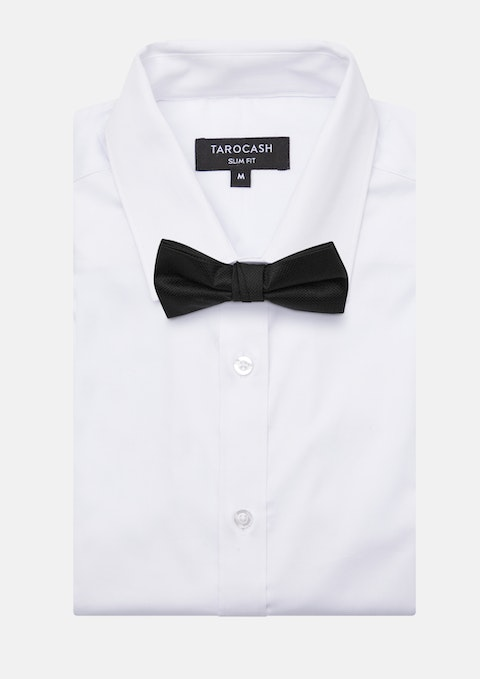 Black Bow Tie Plain