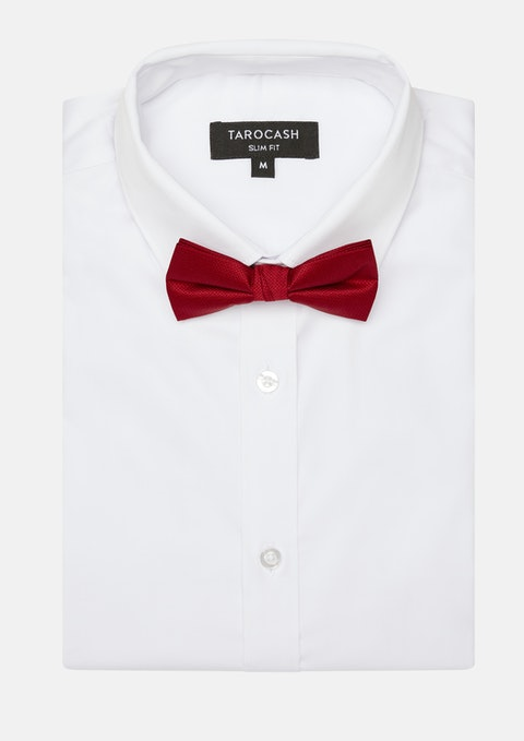Red Bow Tie Plain