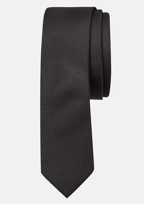 Black Plain Tie 5cm